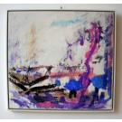 """Fohner-Bihack """"Landschaft in violett"""""""