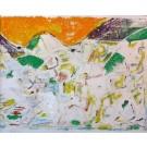"Nateri ""Landschaft gelb abstrakt"""