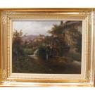 """Onken """"Landschaft mit Mühle"""""""