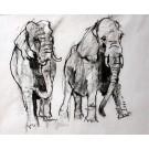"""Panzenberger """"2 Elefanten"""""""