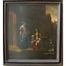 "Vermeer ""Rast eines Edelmannes"""