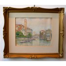 "Weiss ""Venedig, Canal Rio di S Fosca"""
