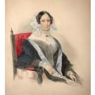 "Clarot ""Sitzende Frau mit Haube"""