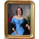 """Gebhardt """"Bildnis einer eleganten Dame"""""""