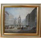 """Künstler 20.Jhdt. """"Wien Hoher Markt um 1900"""""""