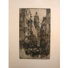 """Kasimir """"Innsbruck, Seilergasse 1922"""""""