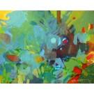 "Kern ""Bali 2, abstrakt"""