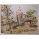"""Kinzel """"Vermutlich Pfarrkirche Bad Deutsch Altenburg"""""""