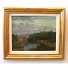 """Rubelli """"Landschaft mit See und Mühle"""""""