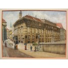"""Schaedl """"Ansicht Lobkowitzplatz Wien I"""""""