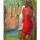 """Stöbe """"Schönheit vor einem Wasserfall"""""""
